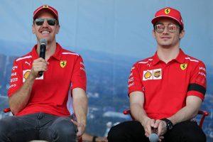 F1 | バーレーンでF1開幕戦の雪辱を誓うフェラーリ。「正しい軌道に戻り、ライバルたちに立ち向かいたい」