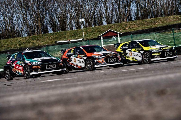 ラリー/WRC | 2019年シーズン開幕目前の世界ラリークロス、GRXヒュンダイ、GCKルノーらが2019年型マシンを披露