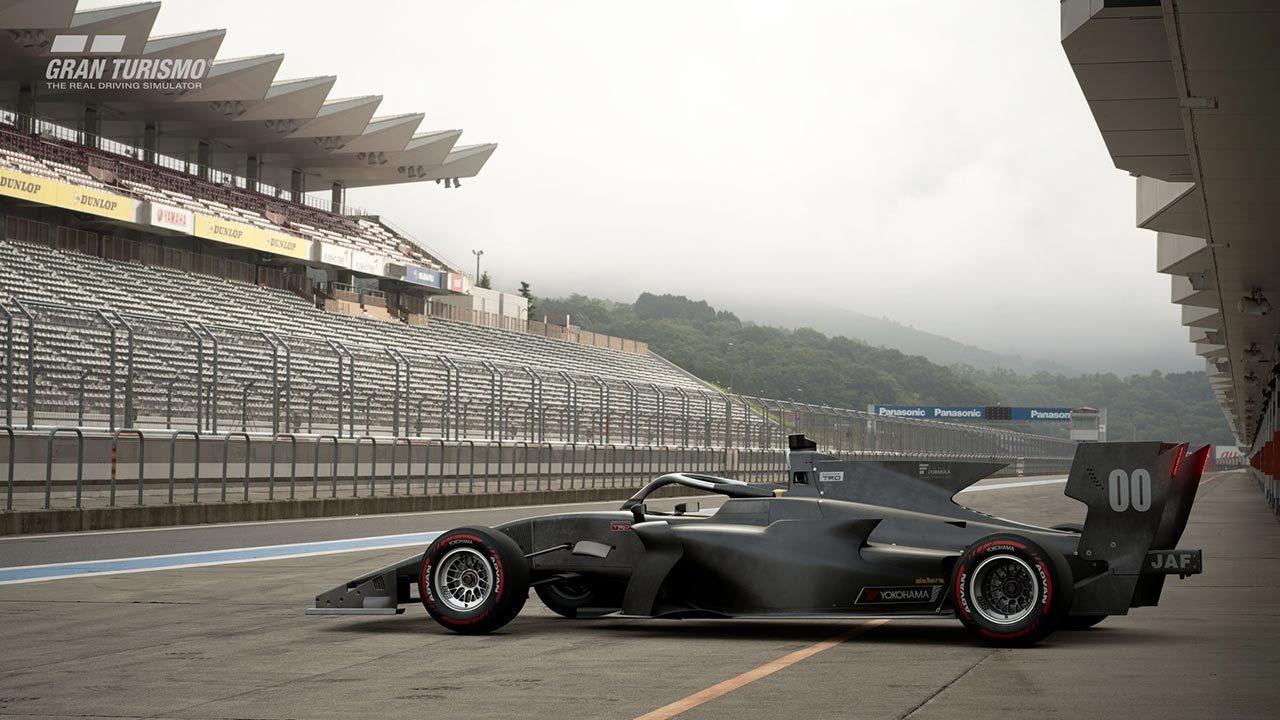 グランツーリスモSPORTに登場したSF19(トヨタエンジン搭載モデル)