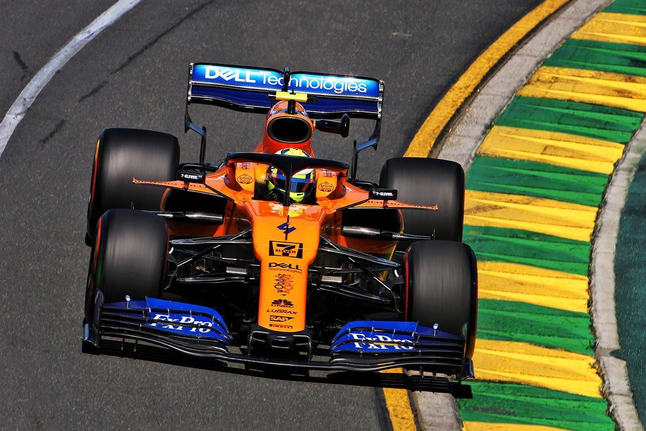 2019年F1開幕戦オーストラリアGP ランド・ノリス(マクラーレン)