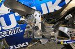 スズキGSX-RRのギヤボックスの出力シャフトに取り付けられたトルダクター