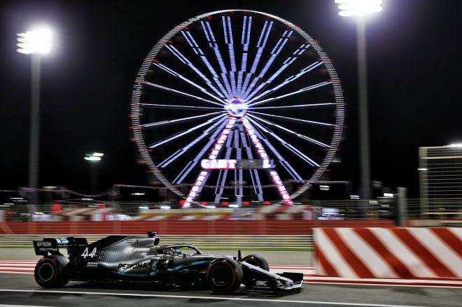 2019年F1第2戦バーレーンGP金曜日 ルイス・ハミルトン(メルセデス)