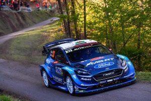 ラリー/WRC | WRC第4戦:ハプニング続出の初日はMスポーツのエバンス首位。トヨタのタナクが4.5秒差
