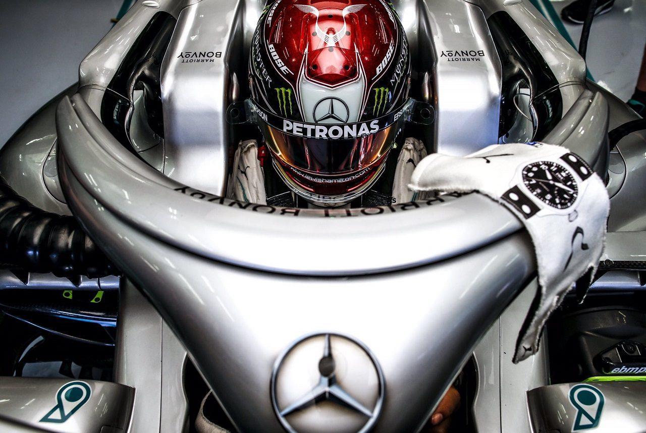 2019年F1第2戦バーレーンGP ルイス・ハミルトン(メルセデス)