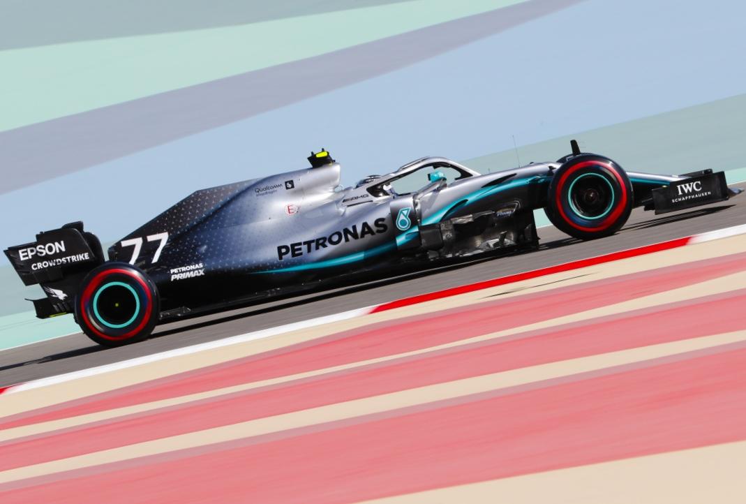 2019年F1第2戦バーレーンGP バルテリ・ボッタス(メルセデス)
