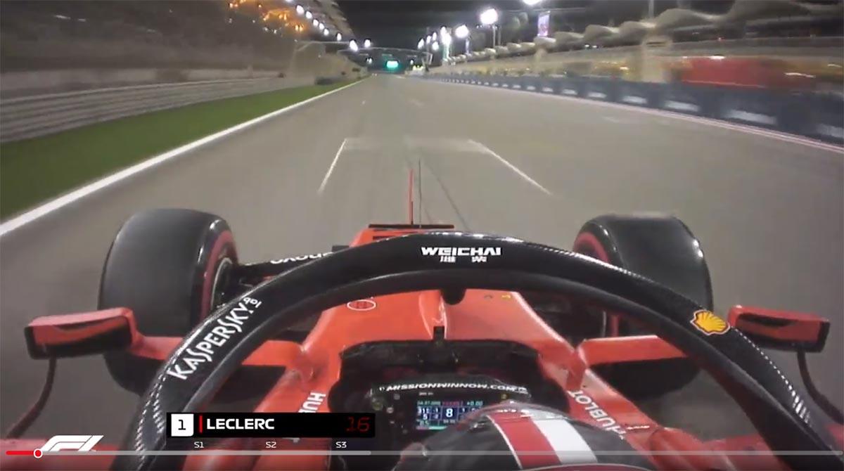 【動画】シャルル・ルクレールのポールラップ/F1第2戦バーレーンGP予選