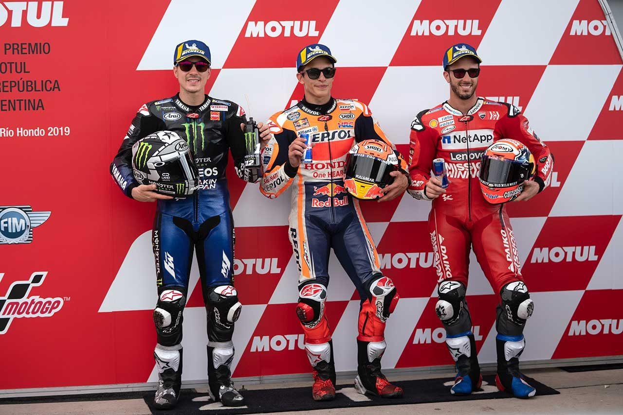 ポール獲得のマルケス「レースペースに満足」/MotoGP第2戦アルゼンチンGP 予選トップ3コメント