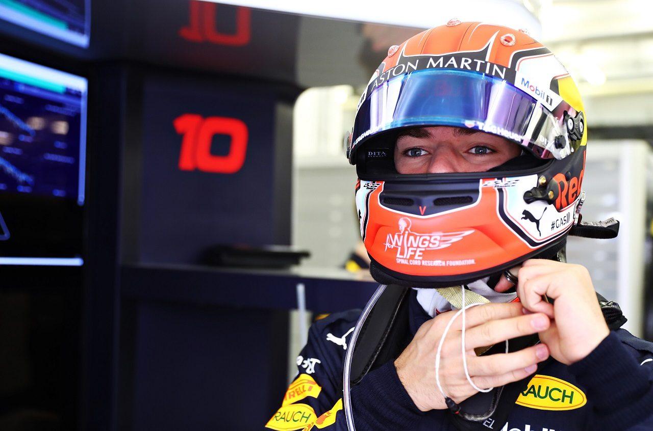 2019年F1第2戦バーレーンGP ピエール・ガスリー(レッドブル・ホンダ)