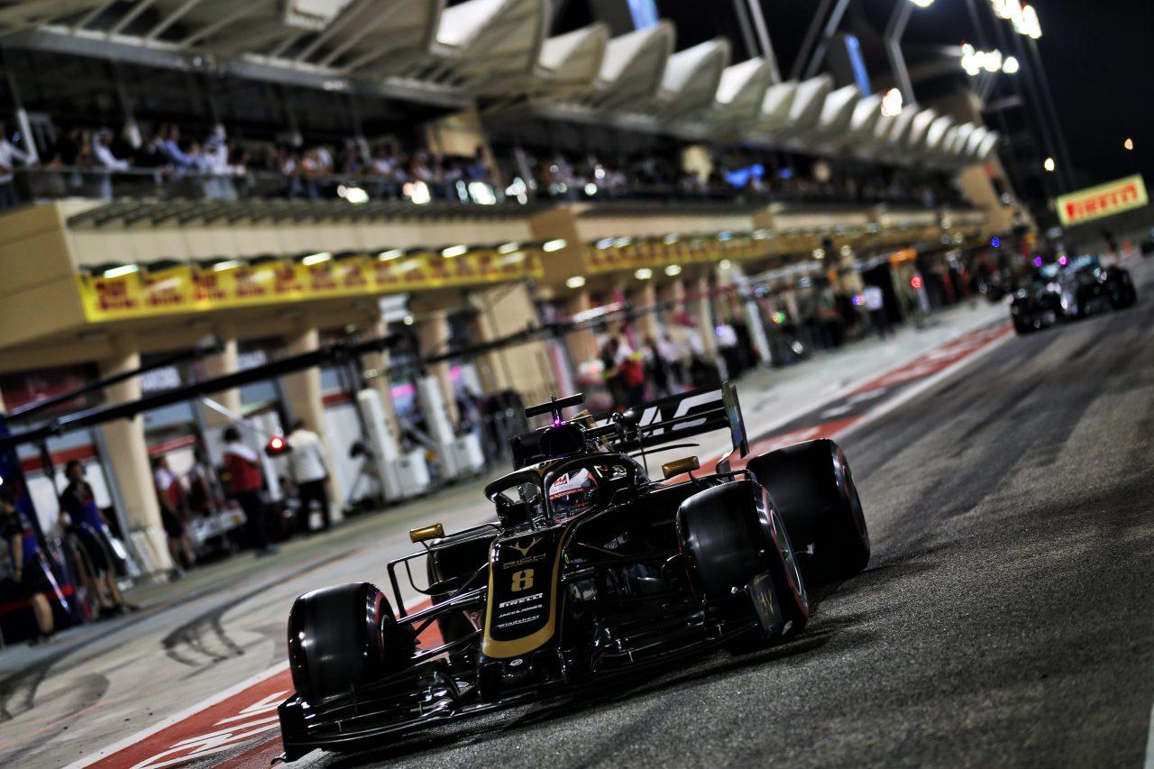 2019年F1バーレーンGPでのグロージャン