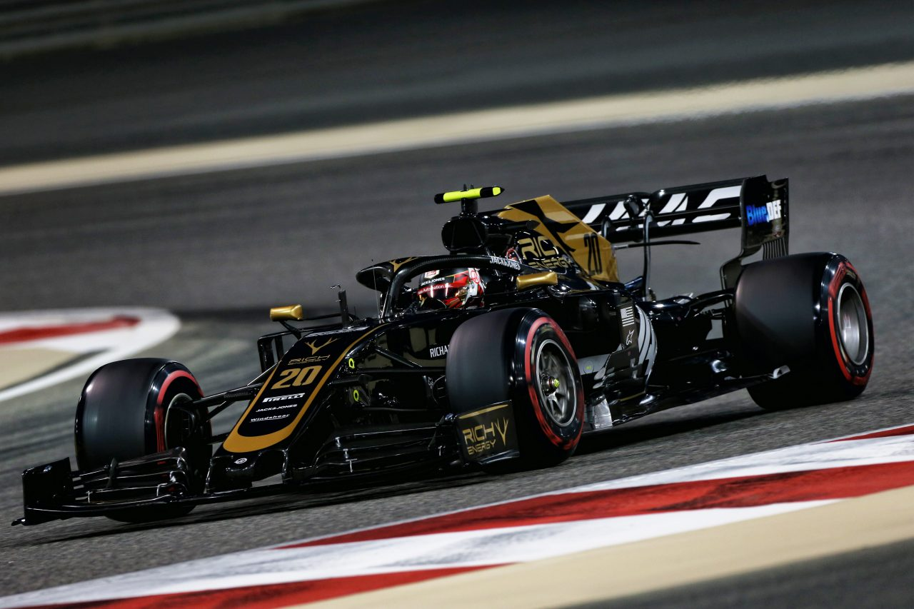 2019年F1バーレーンGPでのマグヌッセン