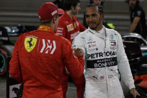 F1 | ハミルトン「直線スピードが違いすぎて、フェラーリに歯が立たなかった」:メルセデス F1バーレーンGP土曜