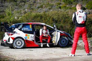 ラリー/WRC | トヨタのタナク「懸命に準備して臨んだだけに、この結果は簡単には受け入れられない」/2019WRC第4戦ツール・ド・コルス デイ2後コメント