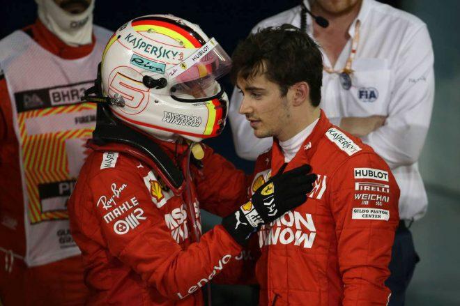 F1バーレーンGP決勝 トラブルによりF1初優勝を逃してしまったシャルル・ルクレール