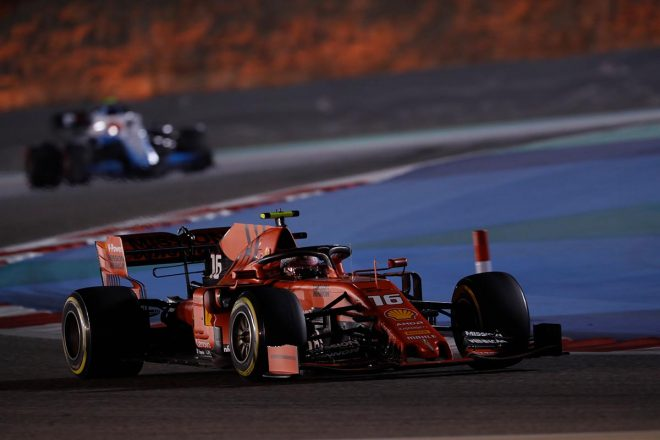 2019年F1第2戦バーレーンGP決勝 シャルル・ルクレール(フェラーリ)
