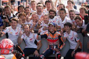 MotoGP | マルケス、MotoGアルゼンチンGPで追随許さぬ独走優勝。2位ロッシは12戦ぶりの表彰台返り咲き