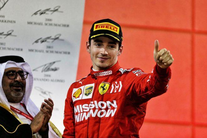 2019年F1第2戦バーレーンGP シャルル・ルクレール(フェラーリ)が初表彰台