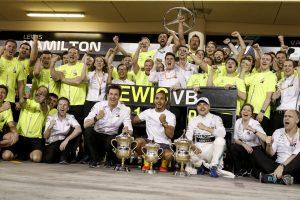 F1 | ハミルトンがシーズン初優勝「今日は運がよかっただけ。でも、高い信頼性も重要な武器」:メルセデス F1バーレーンGP日曜