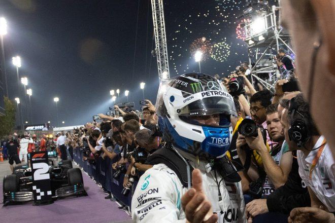 2019年F1第2戦バーレーンGP バルテリ・ボッタス(メルセデス)が2位を獲得