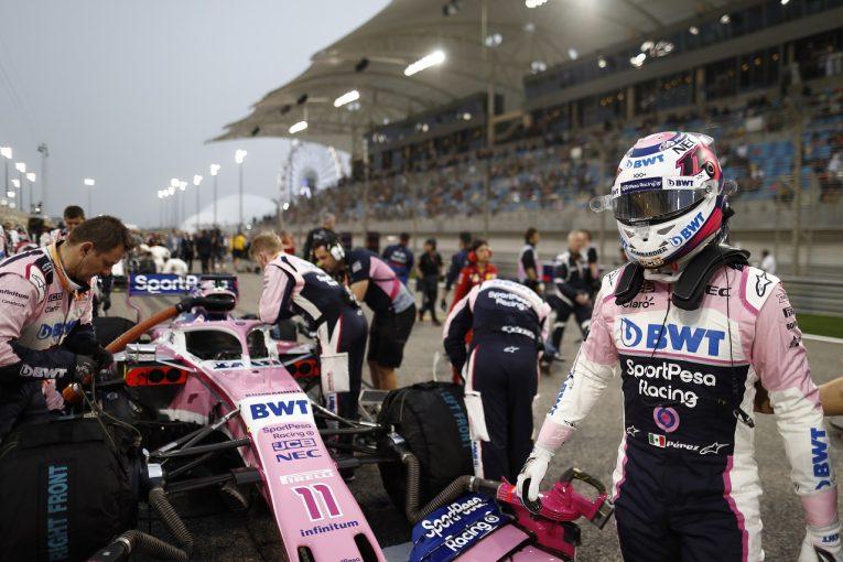 F1 | ペレス10位「セーフティカー出動によってアルボンを抜くチャンスを失った」:レーシングポイント F1バーレーンGP日曜