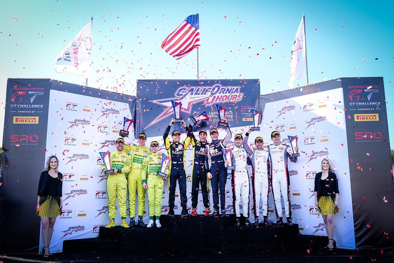 IGTCカリフォルニア8時間:日本車がフロントロウを占めるも優勝はハブオートのフェラーリに