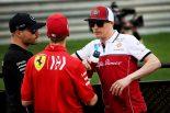 F1 | ライコネン7位「バトルもできて、いいレースだった。一歩ずつ前進していきたい」:アルファロメオ F1バーレーンGP日曜