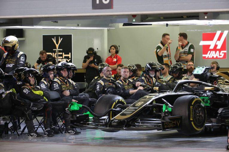 F1   グロージャン「いきなり背後からヒット。最終的にはレース続行を諦めた」ハース バーレーンGP日曜
