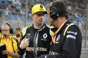 F1 | ヒュルケンベルグ「6位までポジションを上げていたのに、受け入れ難い結果」ルノー バーレーンGP日曜
