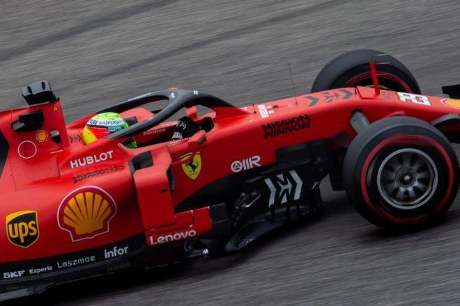 2019年F1バーレーンテスト1日目 ミック・シューマッハー(フェラーリ)