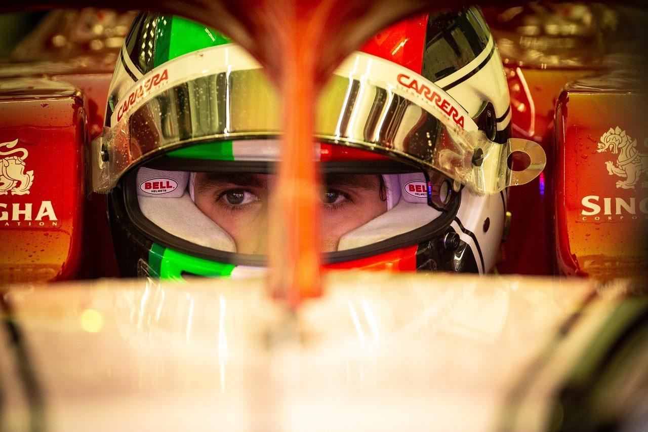 2019年F1バーレーンテスト1日目 アントニオ・ジョビナッツィ(アルファロメオ)
