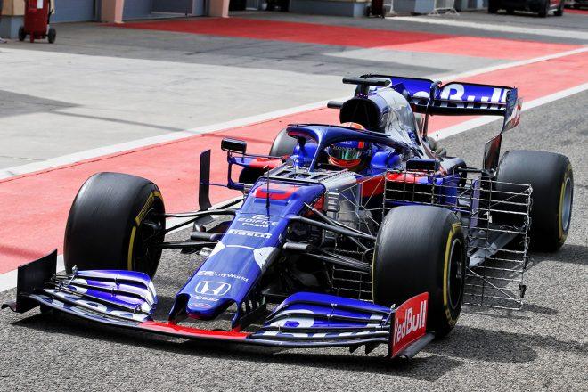 2019年バーレーンF1テスト2日目 アレクサンダー・アルボン(トロロッソ・ホンダ)