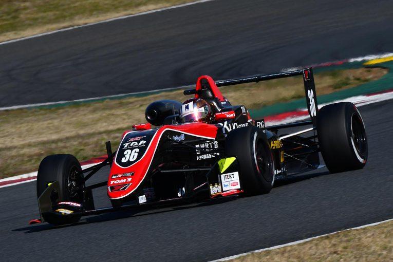 国内レース他   全日本F3選手権富士合同テスト:宮田莉朋が初日のトップタイム。フェネストラズが続く