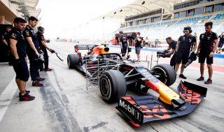 F1   レッドブル・ホンダ、F1バルセロナテストのドライバーラインアップを決定