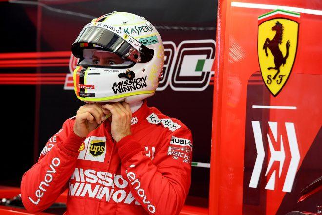 2019年F1バーレーンテスト2日目 セバスチャン・ベッテル(フェラーリ)