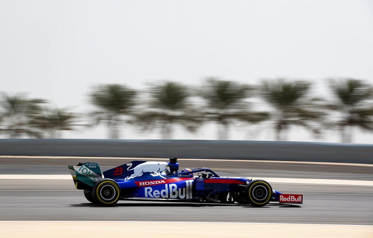 2019年F1バーレーンテスト2日目 アレクサンダー・アルボン(トロロッソ・ホンダ)