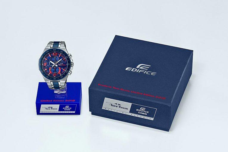 F1 | 『エディフィス』よりトロロッソ・リミテッドエディションが発売決定。ブルー×レッドのマシンカラーリングを採用