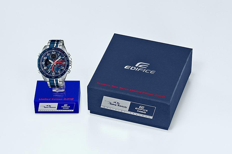 腕時計ブランド『エディフィス』より2種類のトロロッソ限定エディションが発売決定