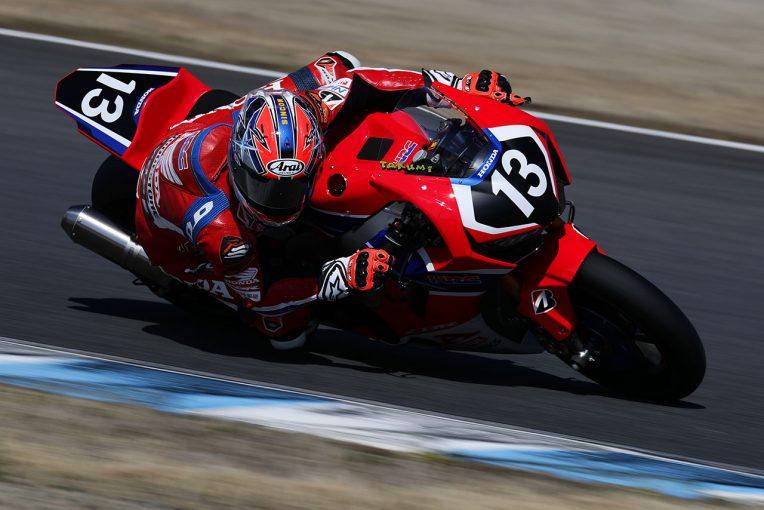 MotoGP   全日本ロード開幕戦もてぎ、高橋巧がレースウイーク最初のセッションでトップタイム。ホンダのエースが好発進