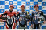 MotoGP | 接戦で勝利した中須賀、高橋巧と「同じ状況にいると考えていた」/全日本ロード開幕戦もてぎJSB1000レース1会見