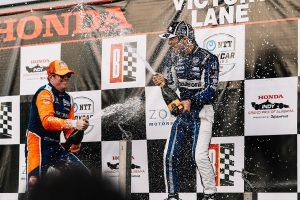 海外レース他 | インディカー第3戦速報:佐藤琢磨が初のポール・トゥ・ウイン。完璧なレース運びで通算4勝目を挙げる