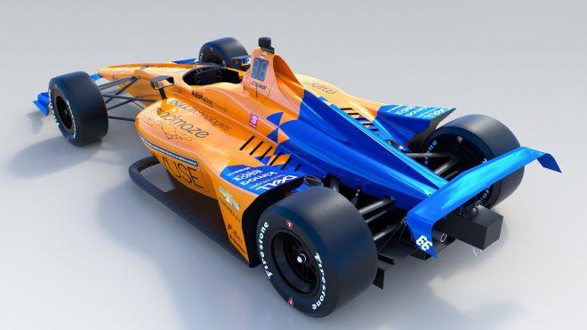 マクラーレン、アロンソ用2019年インディ500マシンを発表