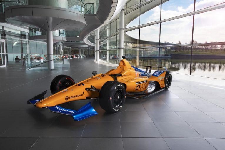 海外レース他 | 【フォト&動画】マクラーレン、アロンソのインディ500マシンを発表
