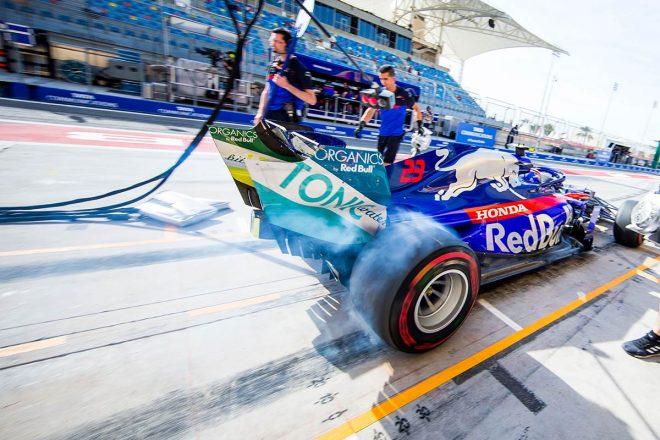 2019年F1第2戦バーレーンGP アレクサンダー・アルボン(トロロッソ・ホンダ)
