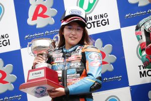 MotoGP | 中山愛理(TEAM SHOTA)は全日本ロード初表彰台を見事獲得