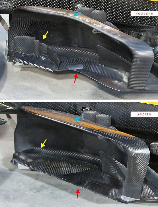 F1バーレーンGP技術解説(2):トロロッソ・ホンダとジェームズ・キー加入のマクラーレンがバージボードをアップデート
