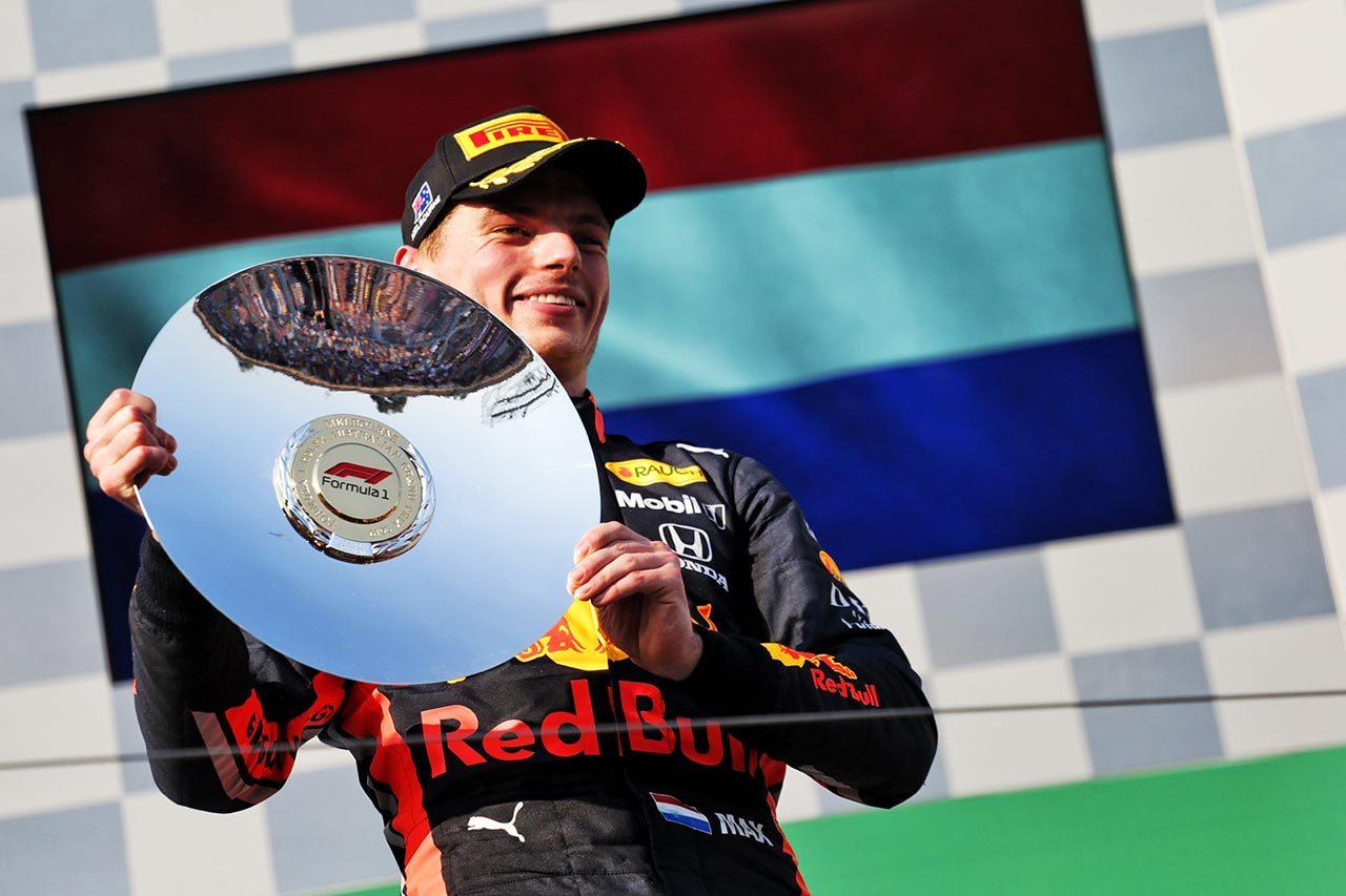 F1開幕戦オーストラリアGP マックス・フェルスタッペン(レッドブル・ホンダ)