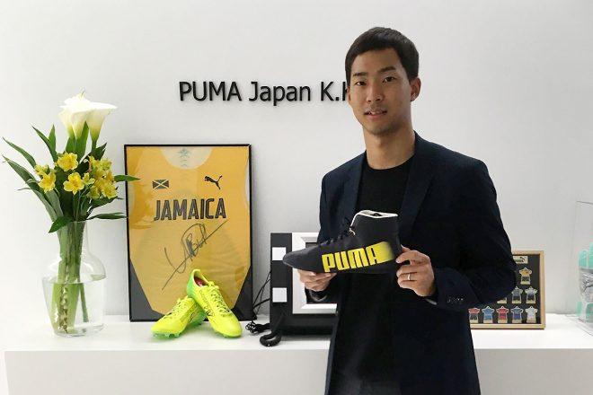 PUMA MOTOR CAMPAIGNでは平川亮のサイン入り非売品シューズがプレゼントされるチャンスも。