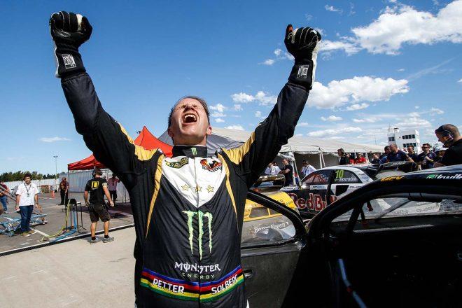 2015年、ペター・ソルベルグは世界ラリークロス選手権を2連覇した