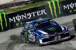 2018年の世界ラリークロスでペター・ソルベルグがドライブしたフォルクスワーゲン・ポロRXスーパーカー