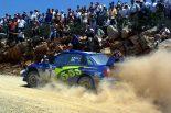 2003年、ペター・ソルベルグはスバルからWRCに参戦しワールドチャンピオンに輝いた