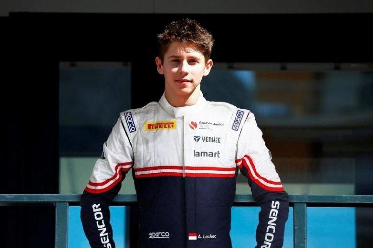 F1 | シャルル・ルクレールの弟アーサー、ザウバー・ジュニアチームに加入。ドイツ&イタリアF4参戦へ